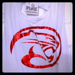 VS Pink Houston Cougars collegiate tank